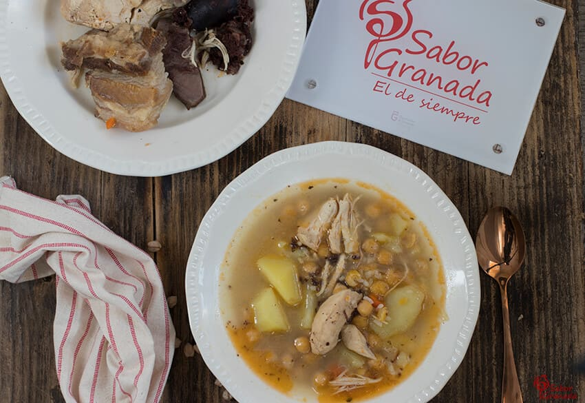 Receta de Puchero Andaluz - Sabor Granada