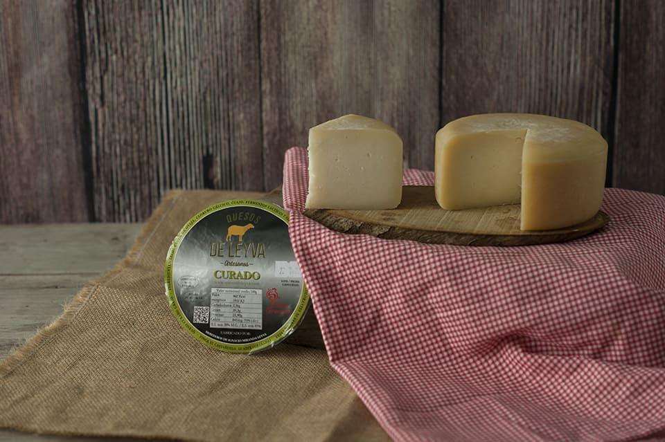 Queso de Leyva curado - Sabor Granada