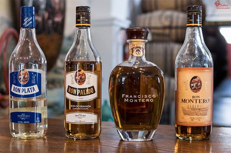 Varios productos de Ron Montero - Sabor Granada