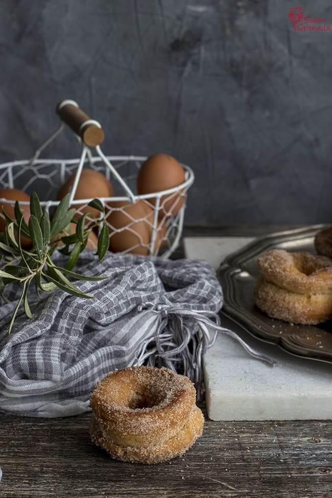 Cómo hacer Rosquillas fritas - Sabor Granada