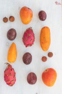 Frutas tropicales de la empresa Sol y Fruta - Sabor Granada