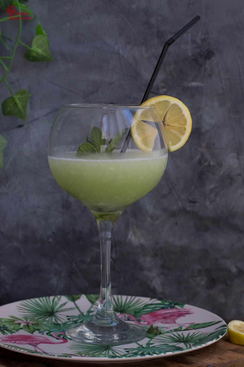 Sorbete de Gin Tonic - Sabor Granada