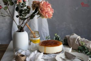 Elaboración de tarta de queso sin horno - Sabor Granada