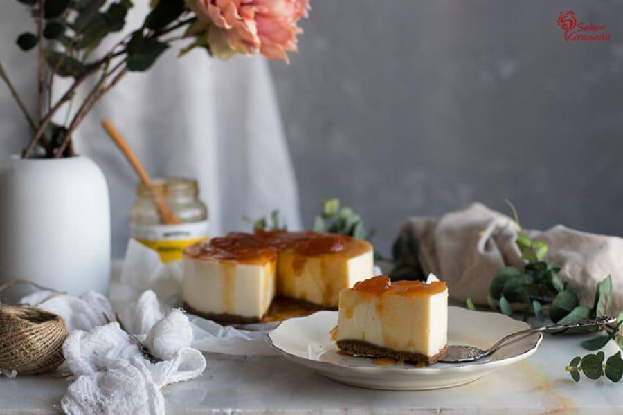 Receta de tarta de queso sin horno - Sabor Granada
