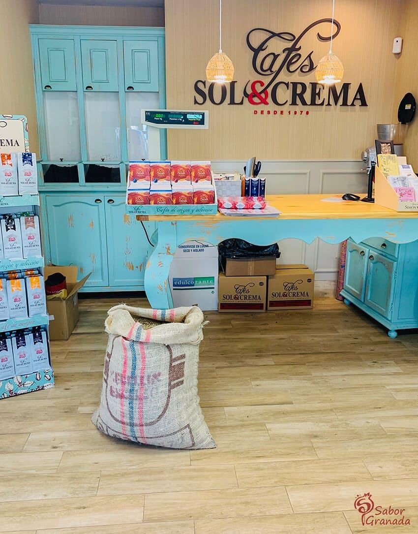 Tienda Sol y Crema - Sabor Granada