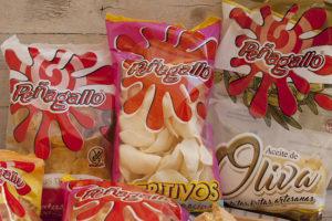 Patatas chips Peñagallo para hacer una tortilla - Sabor Granada
