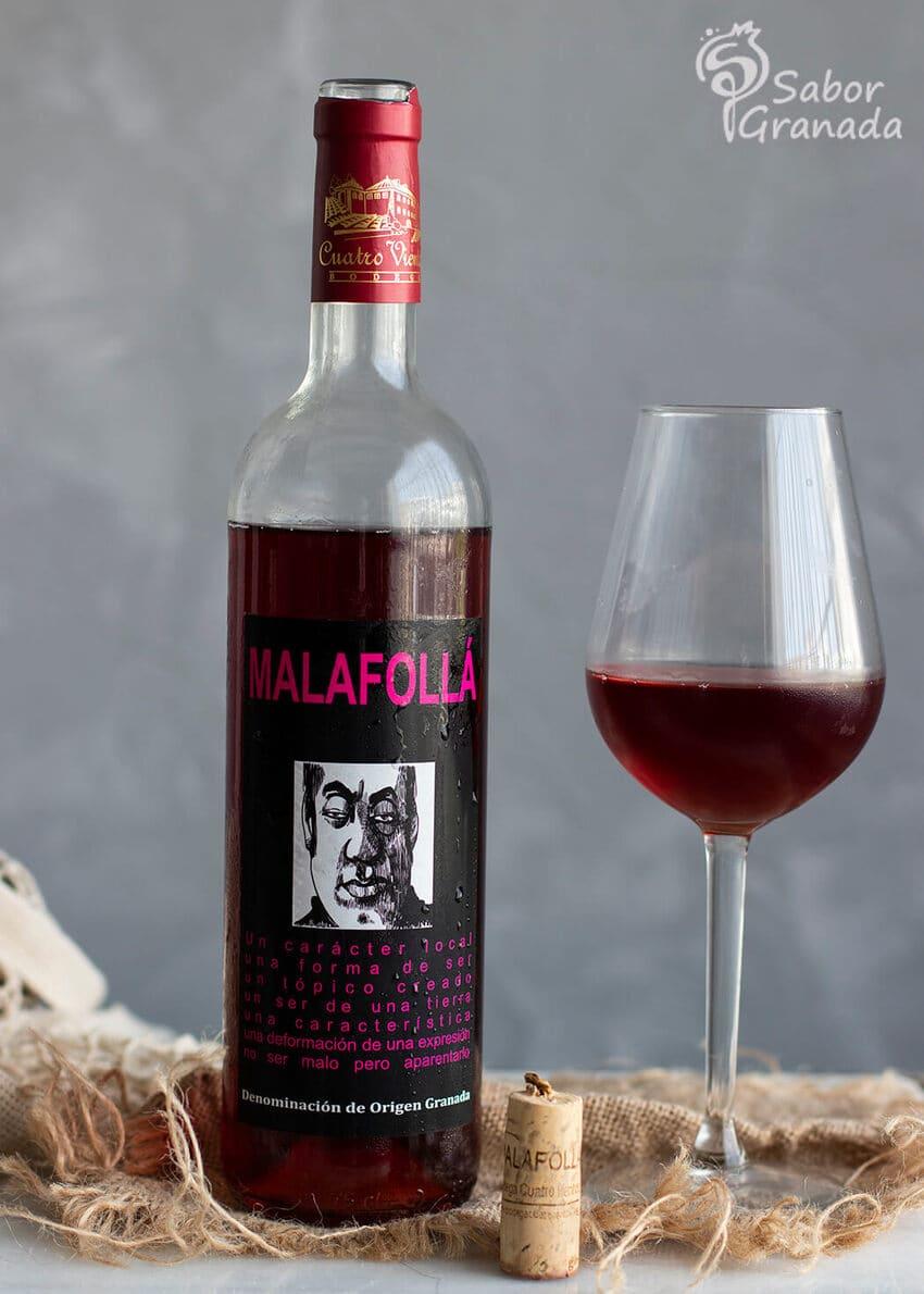 Vino rosado Malafollá para acompañar estos espárragos rebozados al horno - Sabor Granada