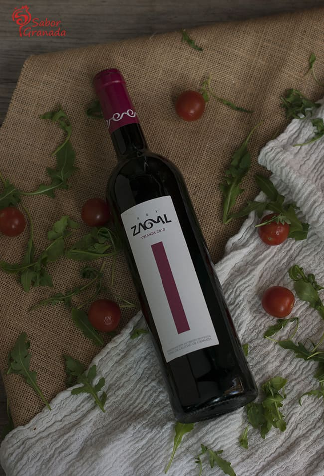 Vino Rey Zagal - Sabor Granada