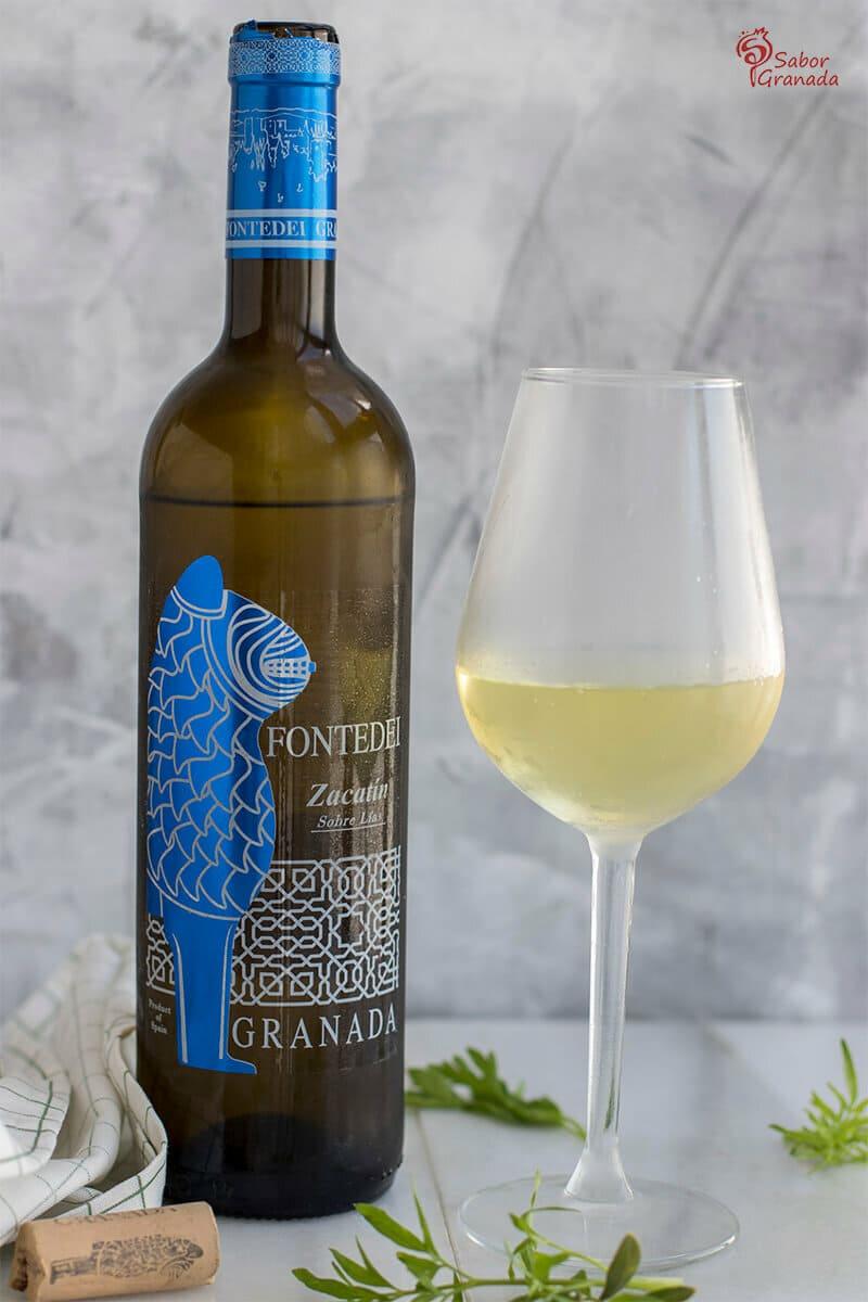 Vino blanco Zacatín - Sabor Granada