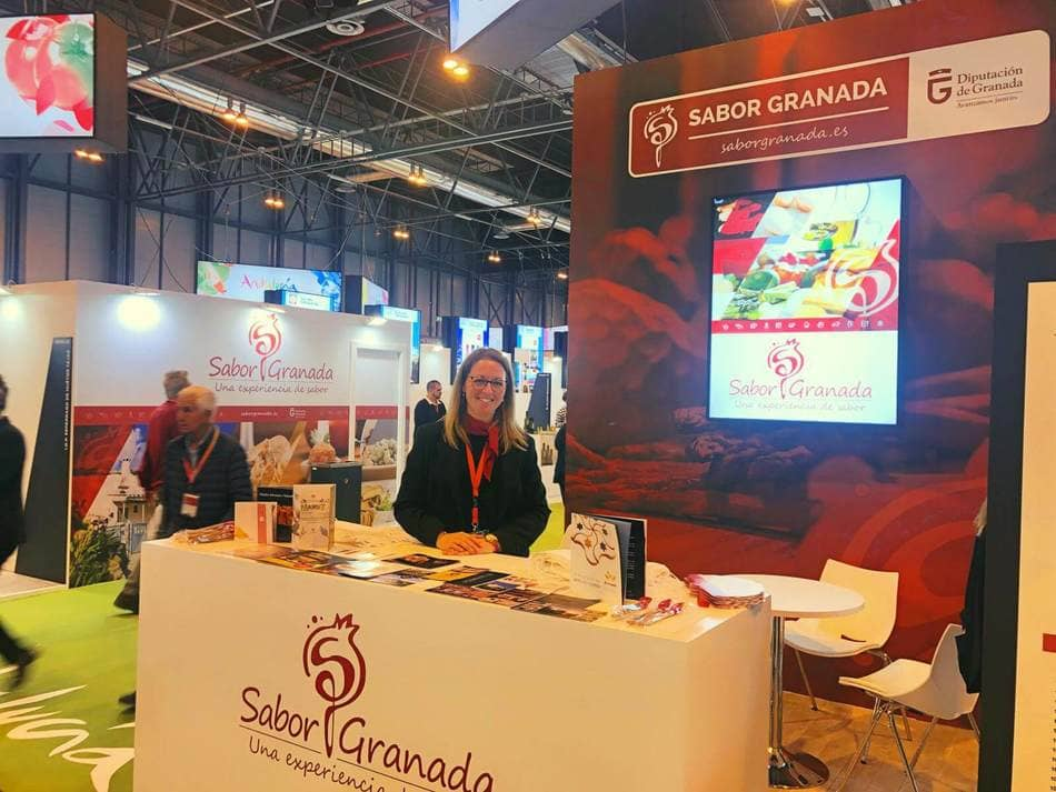 Stand de Sabor Granada en Salón Gourmet 2019 - Sabor Granada