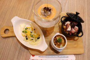 Platos de cocina típica granadina - Sabor Granada