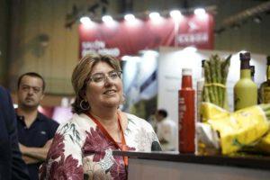 Ana Muñoz, diputada de Empleo y Desarrollo Sostenible, en Andalucía Sabor - Sabor Granada