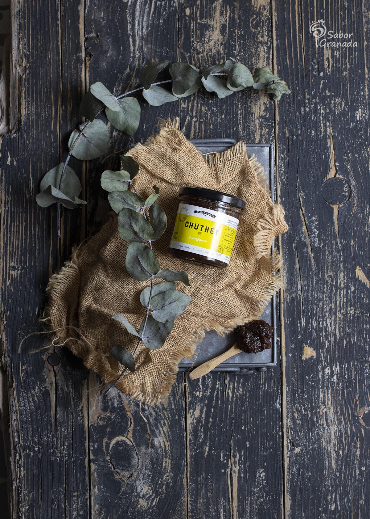 Chutney de manzana Plain and Simple - Sabor Granada