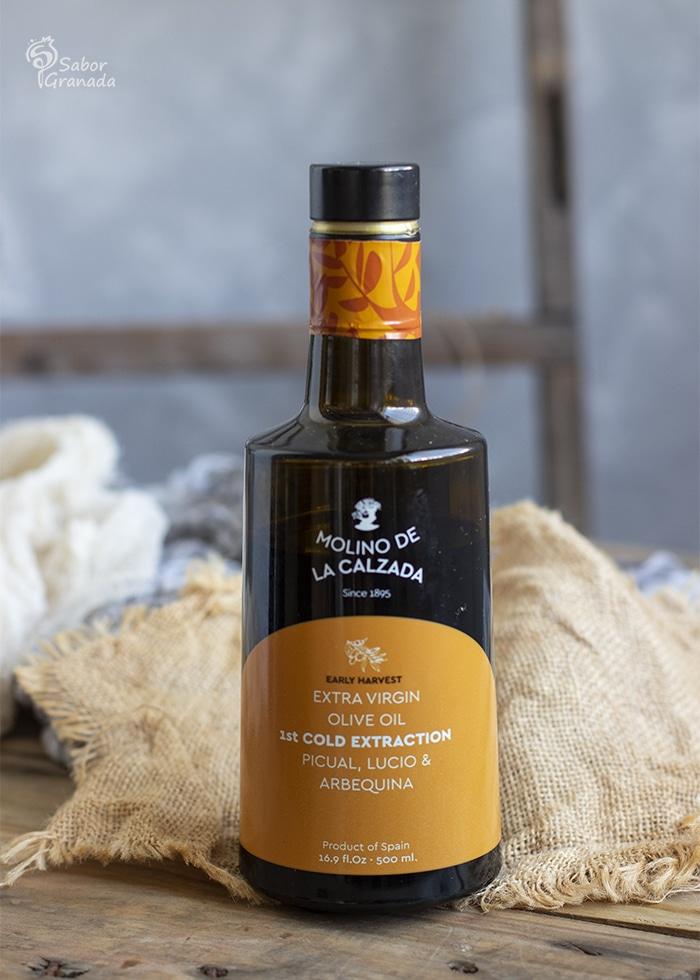 AOVE Molino de la Calzada para hacer cordero al horno a la miel y mostaza - Sabor Granada