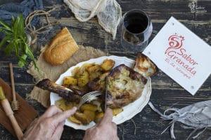 Receta para hacer cordero a la miel y mostaza - Sabor Granada