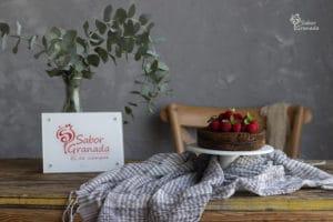 Pastel de chocolate sin azúcar - Sabor Granada