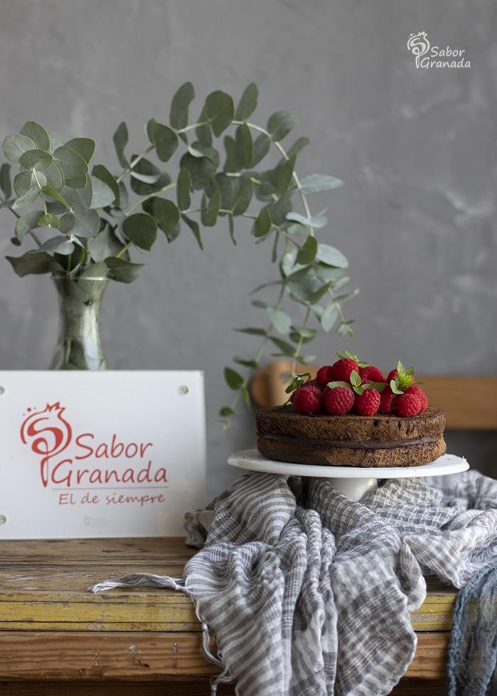 Receta para hacer un pastel de chocolate sin azúcar - Sabor Granada