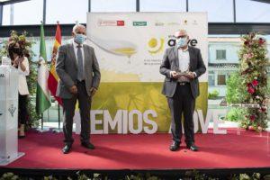 Fotografía de la entrega de premios AOVE Sabor Granada 2020