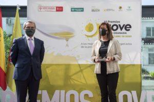 Momento de la Entrega de Premios AOVE Sabor Granada 2020