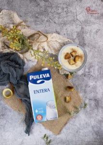 Leche Puleva para la elaboración de las gachas dulces de Todos los Santos - Sabor Granada