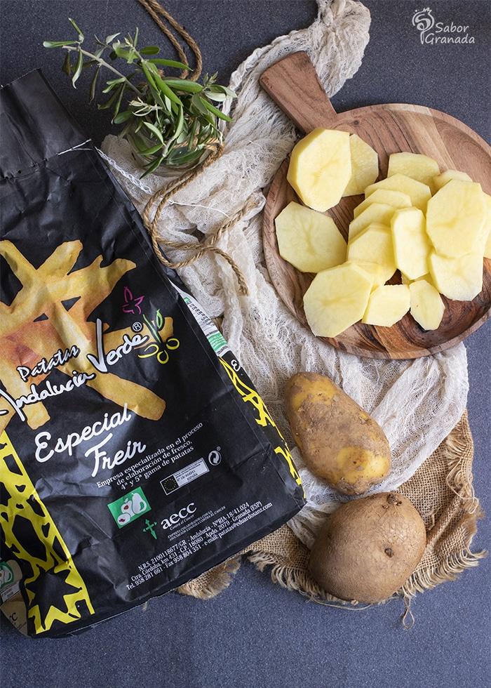 Patatas Eduardo Sanz para hacer un plato alpujarreño - Sabor Granada