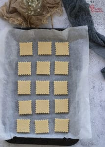 Galletas de mantequilla antes de ir al horno - Sabor Granada