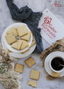 Galletas de mantequilla - Sabor Granada