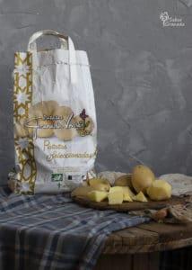 Patatas Eduardo Sanz para hacer un puchero de coles - Sabor Granada