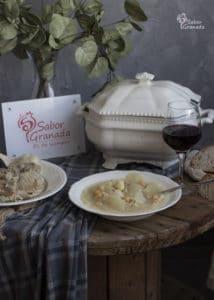 Puchero de coles - Sabor Granada