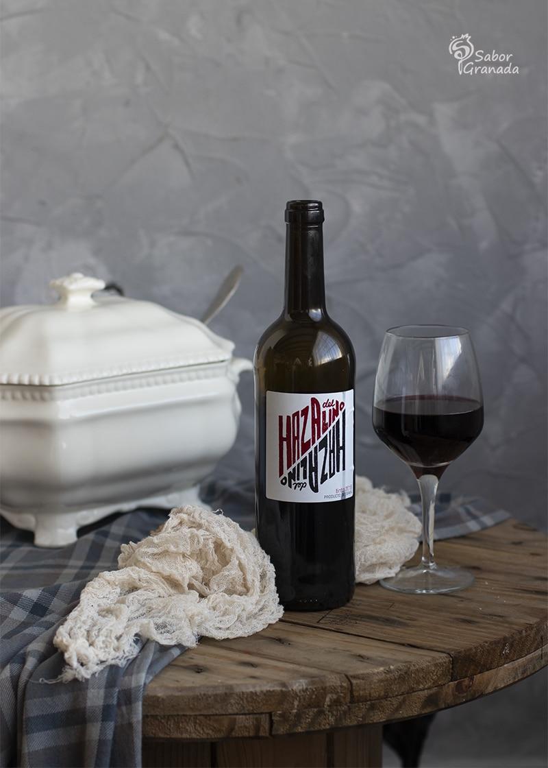 Vino Haza de Lino para maridar un puchero de coles - Sabor Granada