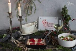 Receta para hacer pimientos del piquillo rellenos de gambones - Sabor Granada
