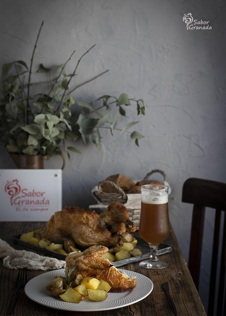 Pollo a la Cerveza - Sabor Granada