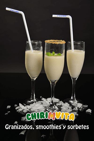 Granizados, smoothies y sorbetes Chirimvita - Sabor Granada