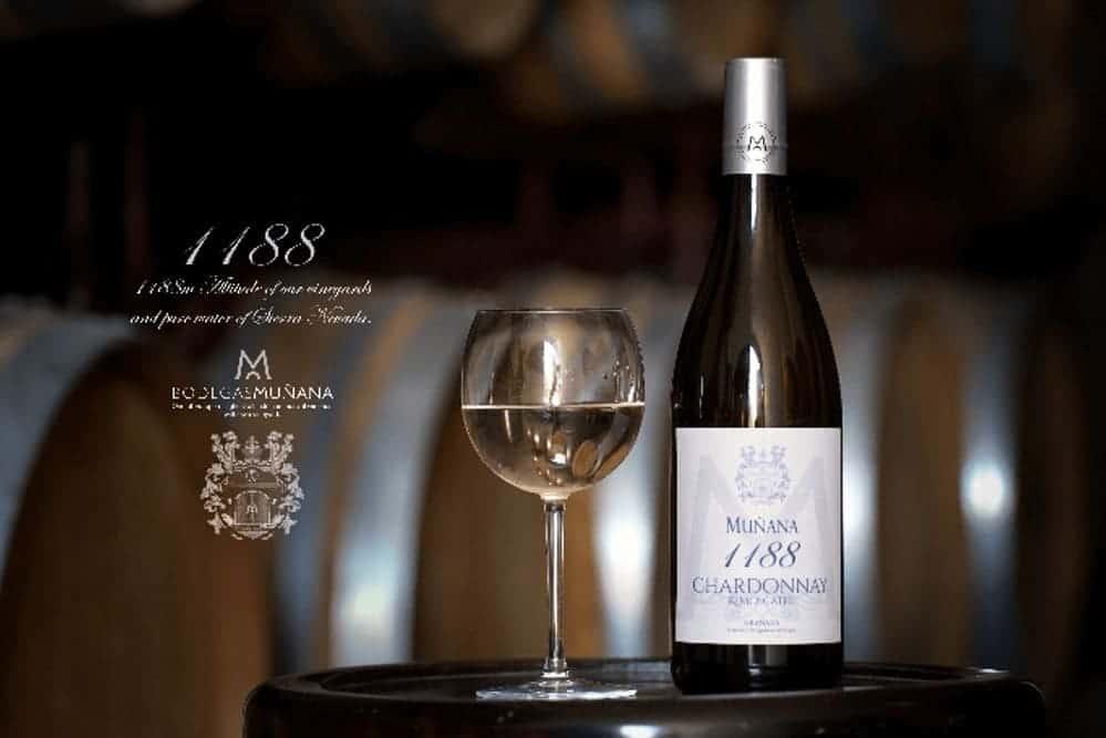 Chardonnay 1188 de Bodegas Muñana - Sabor Granada