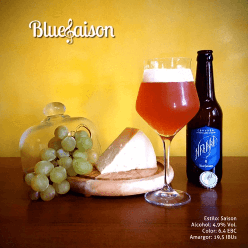 Cerveza Bluesaison de Nazarí - Sabor Granada