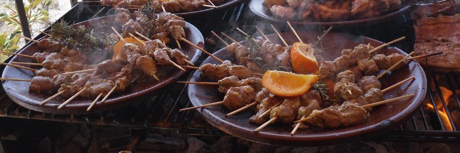 Pinchitos de cordero segureño de Consegur - Sabor Granada