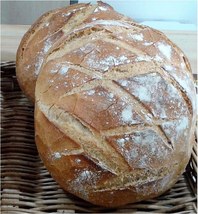 Pan de la Panadería Santa Isabel - Sabor Granada