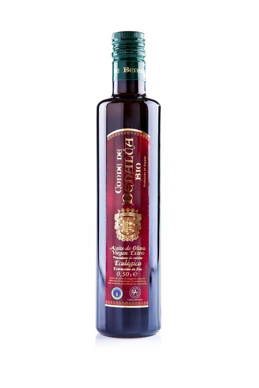 Botella de AOVE BIO de Conde de Benalúa - Sabor Granada