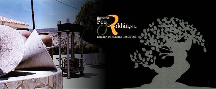 Banner de Herederos Roldán. Fabricando aceites desde 1895 - Sabor Granada