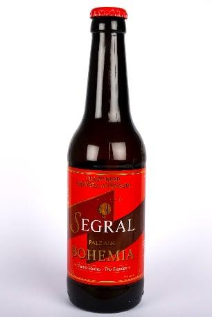 Cerveza Bohemia de Segral - Sabor Granada