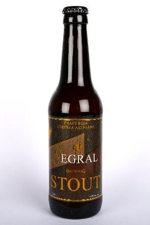Cerveza Stout de Segral - Sabor Granada