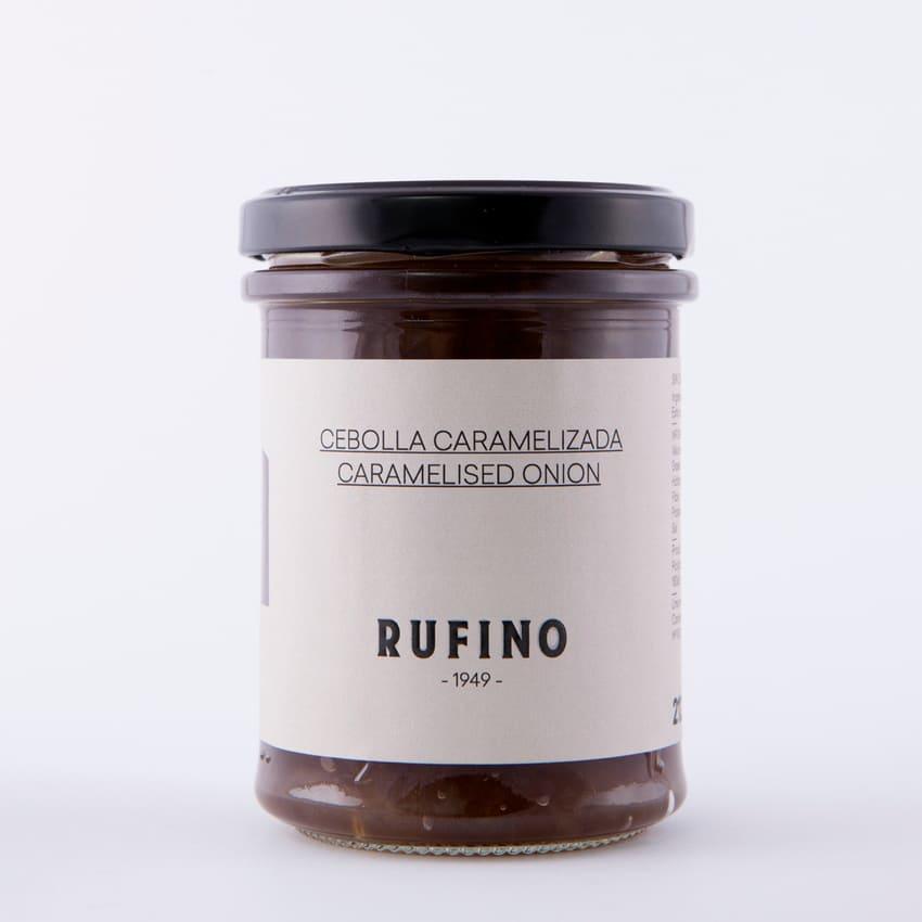 Bote de cebolla caramelizada de Rufino - Sabor Granada