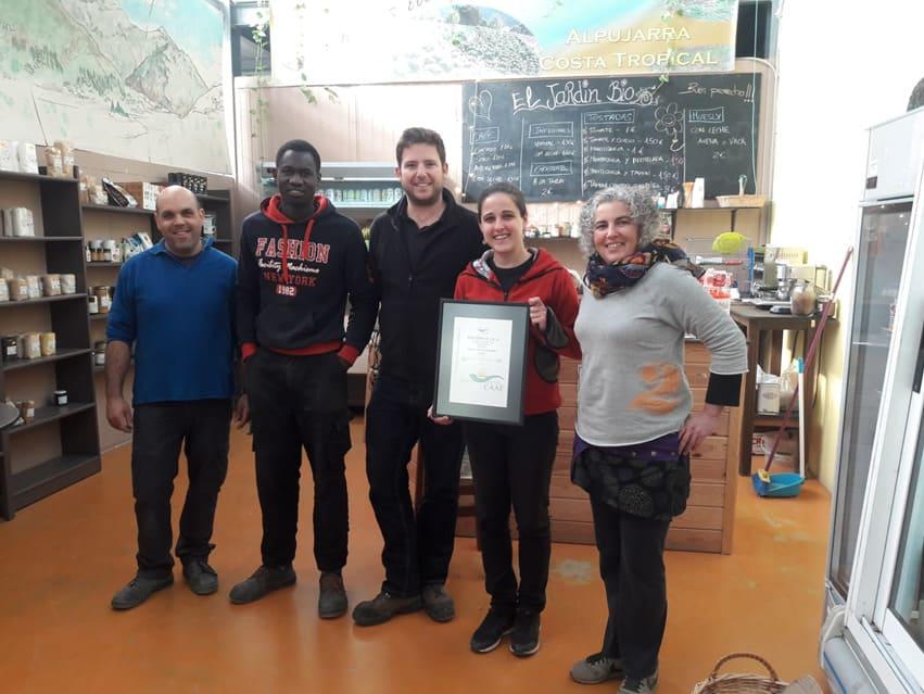 Personas con premio recibido por Las Torcas - Sabor Granada