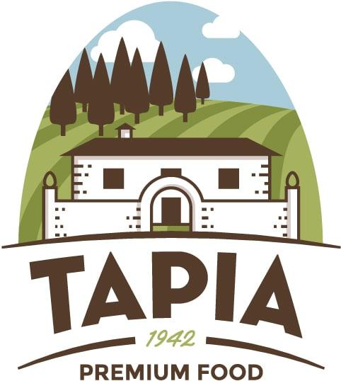 Logotipo Tapia Premium Food - Sabor Granada