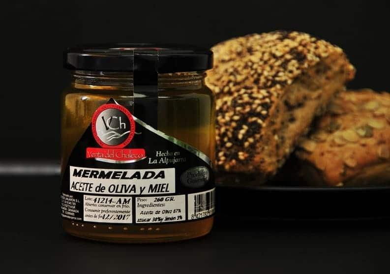 Mermelada de aceite de oliva y miel de Venta del Chaleco - Sabor Granada