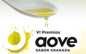 Banner de la sexta edición de los Premios AOVE - Sabor Granada