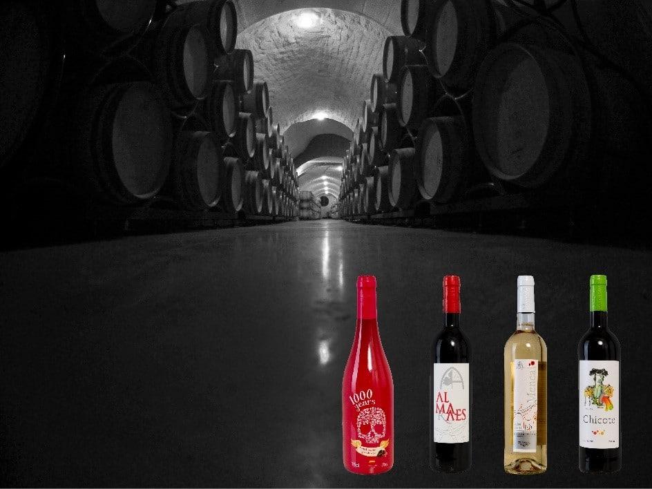 Imagen de los vinos y la bodega de Pago de Almaraes - Sabor Granada