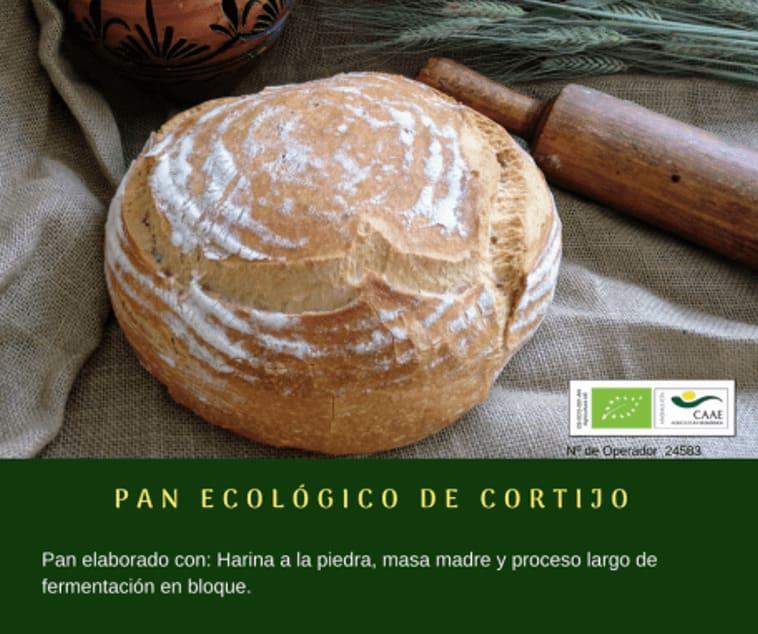 Pan ecológico de cortijo de Panadería Gerardo - Sabor Granada