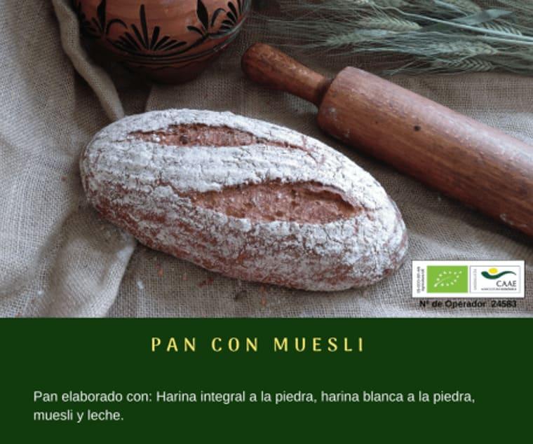 Pan con muesli de Panadería Gerardo - Sabor Granada