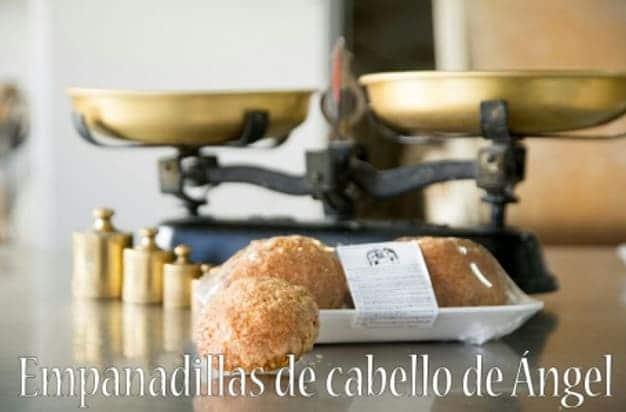 Empanadillas de cabello de ángel de Panadería Manolín - Sabor Granada
